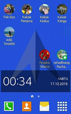 Cara Menambahkan Widget Baru di Layar Utama HP Samsung
