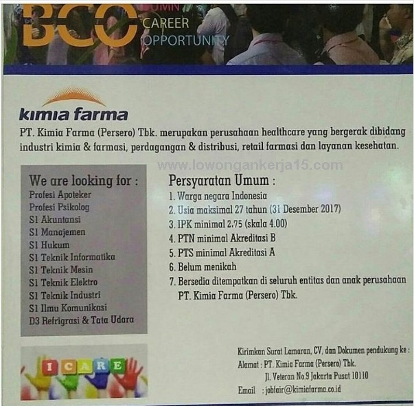 Loker Kimia Farma