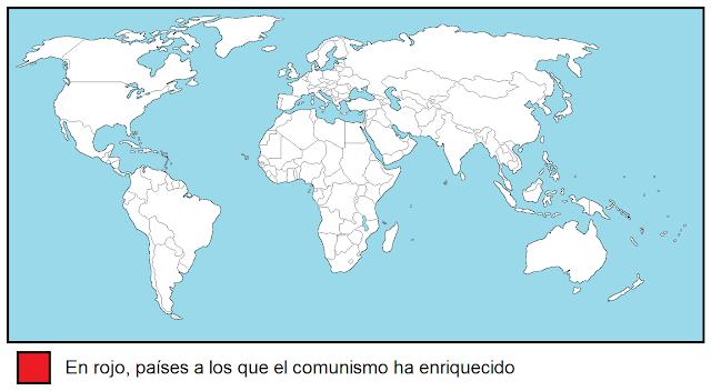 Países a los que el comunismo ha enriquecido