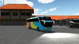 Livery Sapuraning Rahayu ES Bus Simulator ID 2