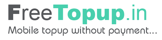 (Varified Loot)FreeTopUp Website Loot – Get Rs 20 On Signup And 5 Per Refer[Proof Added]
