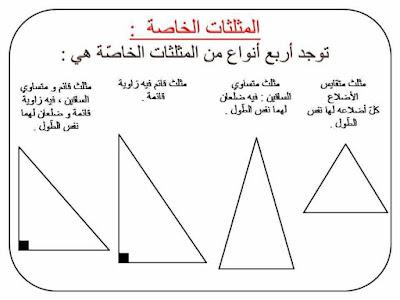 قواعد في مادة الرياضيات السنة الثالثة ابتدائي الجيل الثاني