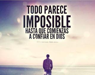 ¿Que significa no hay nada imposible para Dios?