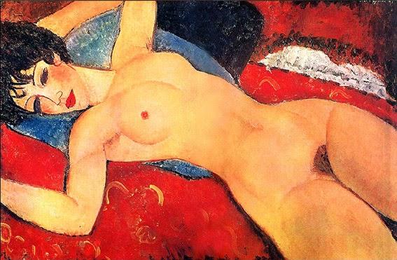 Nu Dormindo com os Braços Abertos - Amedeo Modigliani e suas pricipais pinturas