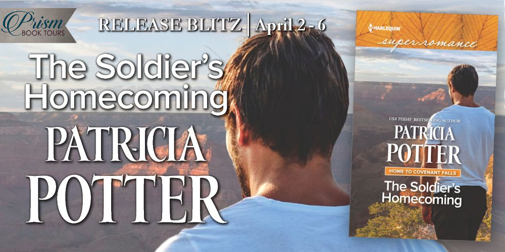 We're celebrating the release of THE SOLDIER'S HOMECOMING by PATRICIA POTTER!