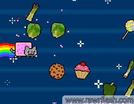 Jogos de gatinhos, gatos, felinos, nyan cat: Nyan Cat FLY!