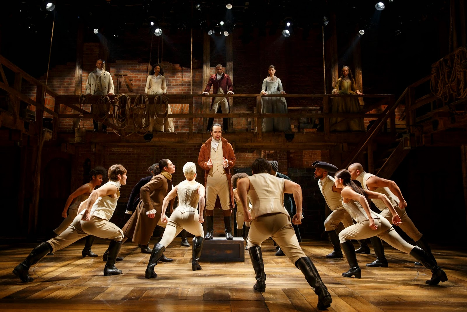 Reflections in the Light: Off-Broadway Review: Hamilton