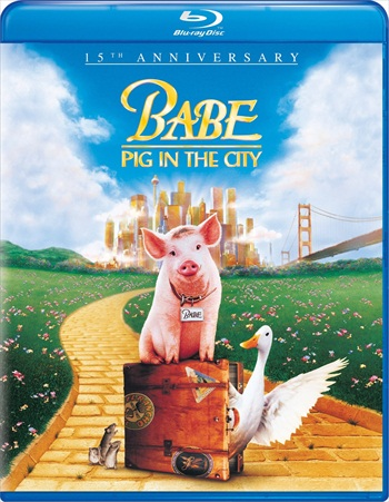 Babe Pig In The City 1998 Dual Audio Hindi 720p BluRay 750mb