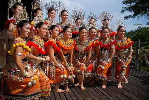 Sarawak Cultural Village Iban People