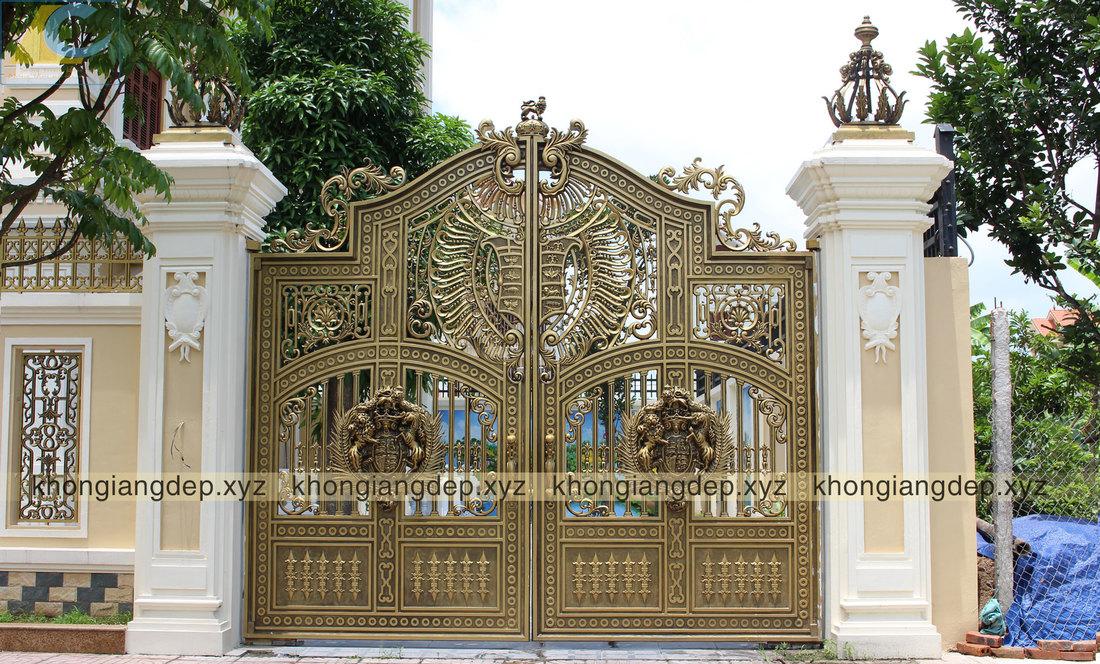 tư vấn thiết kế cổng nhôm đúc
