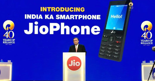 Jio Phone Features, Free With Rs. 1,500 Deposit, Unlimited 4G Data, Launched by Mukesh Ambani