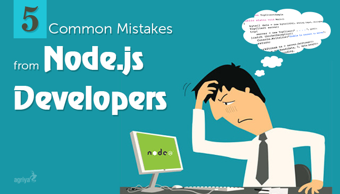 nodejs developer mistakes
