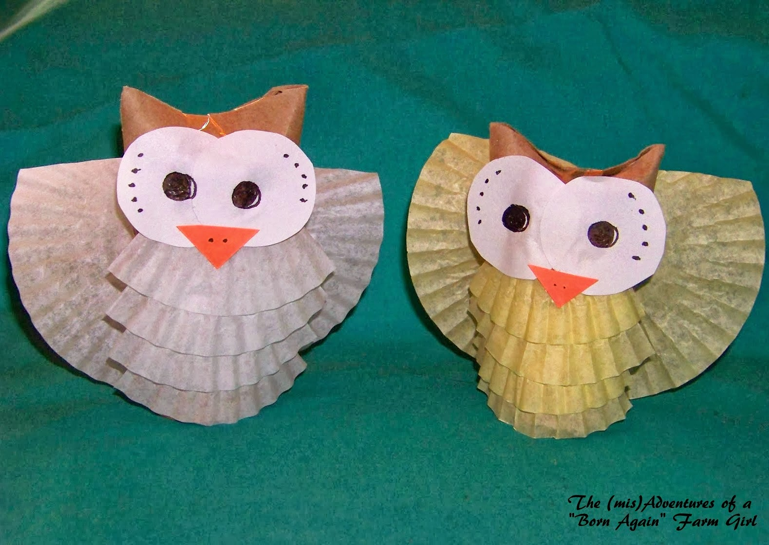 owl paper craft laura williams