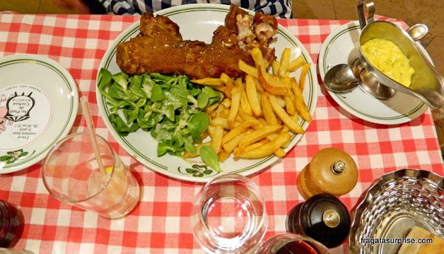 Paris: restaurante Au Pied de Couchon, Les Halles