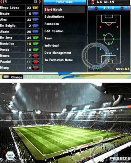 Game PES 2016 ISO Pacth Galaxy11 V3