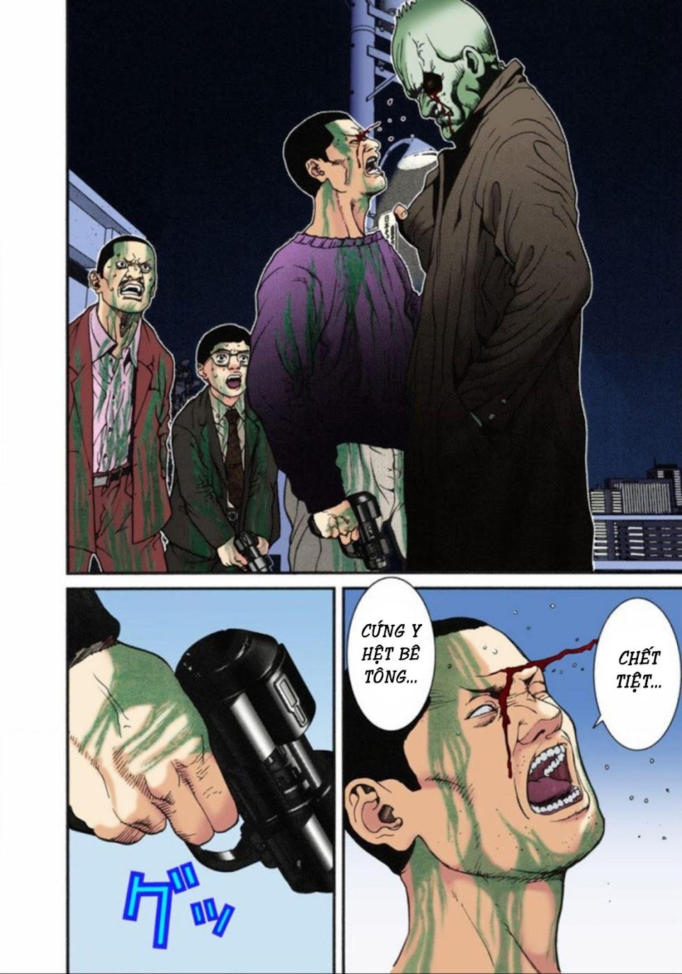 Gantz Chap 10: Cơn thịnh nộ trang 10