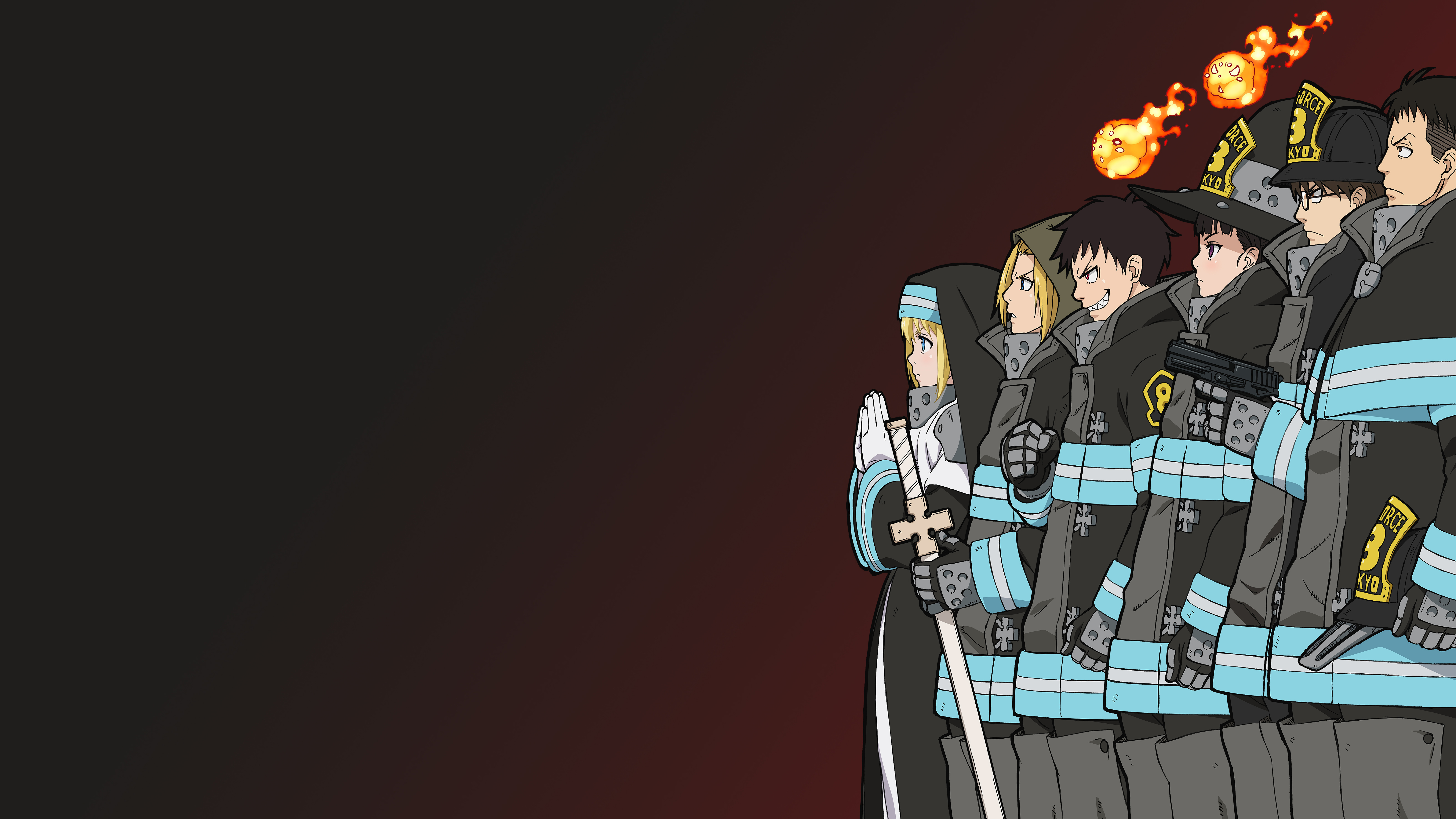 Fire Force Wallpaper Hd 1920x1080 Anime Wallpapers Fire force ringtones and wallpapers. anime wallpapers