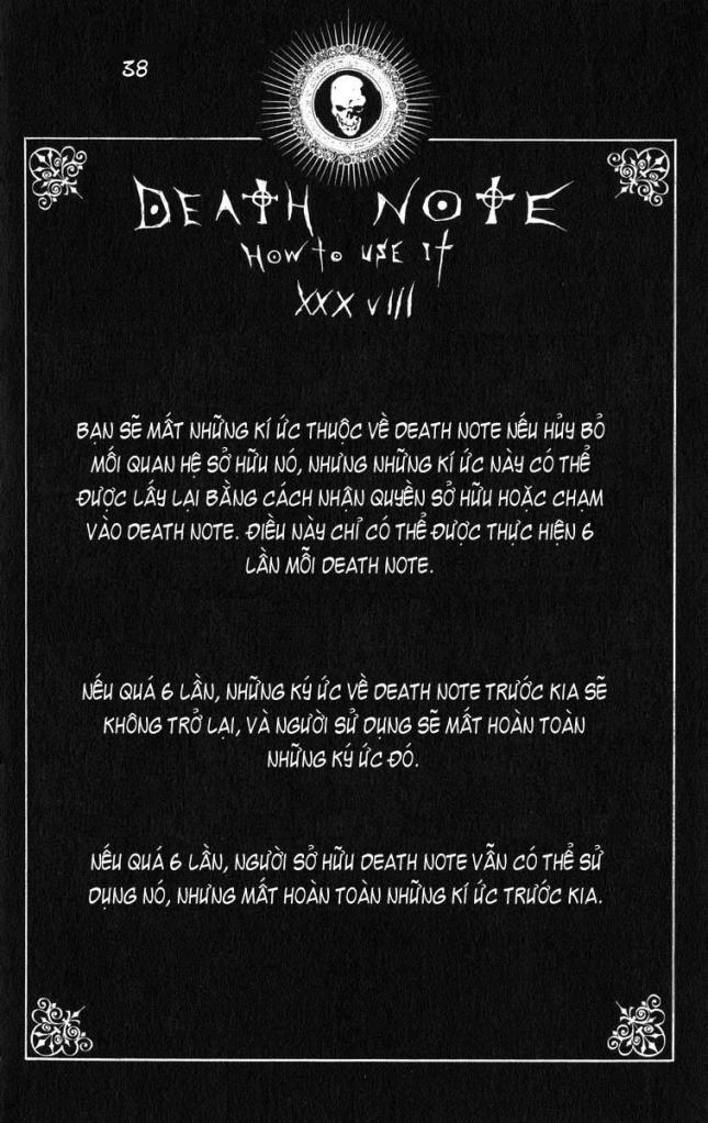 Death Note chapter 110 - how to use trang 41