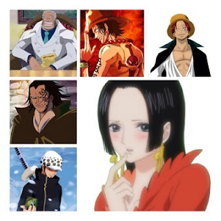 One Piece Profile Para Pemain Kedua