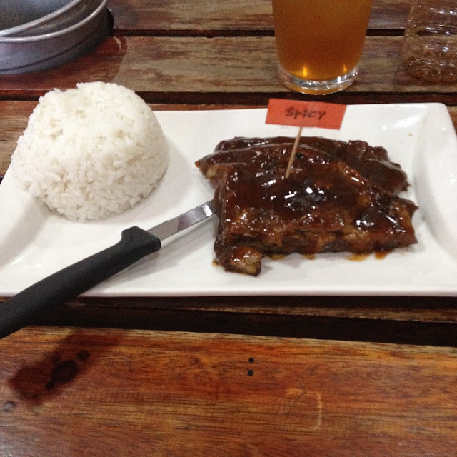 PhP 99 ribs at Surfin' Ribs
