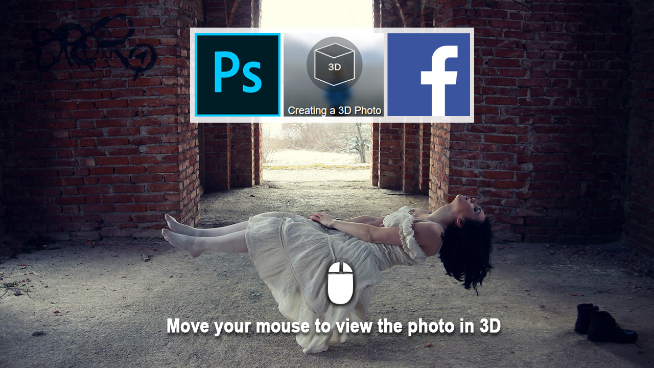Making Facebook 3D Photo In Photoshop - rafy A