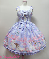 Mintyfrills, sweet lolita, fashion, kawaii, cute, kitten, dress,