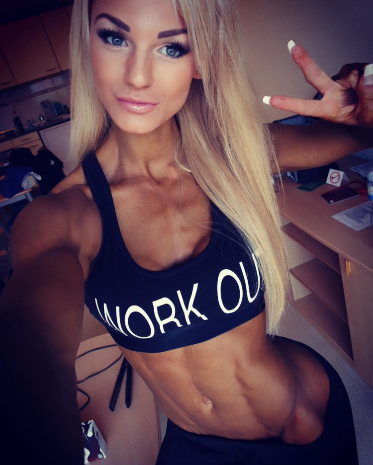 Fitness Model Catharina Wahl 04