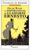 Portada del libro La importancia de llamarse Ernesto de Oscar Wilde