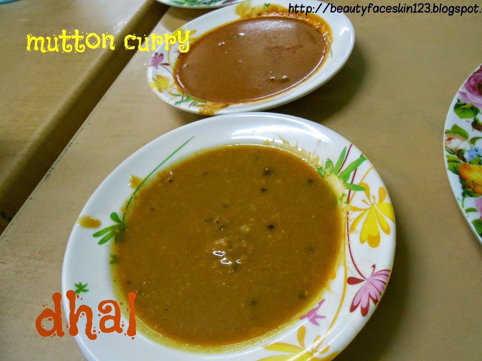 DHAL  MUTTON CURRY