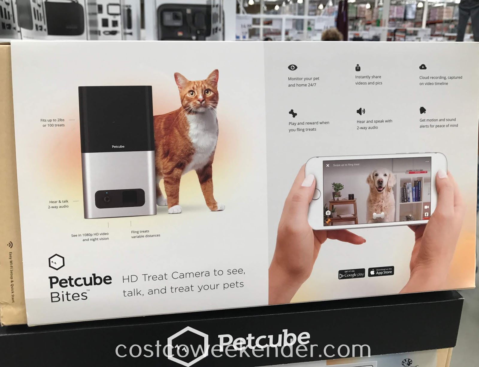 Costco 1213719 - Petcube Bites: great for any dog or cat owner