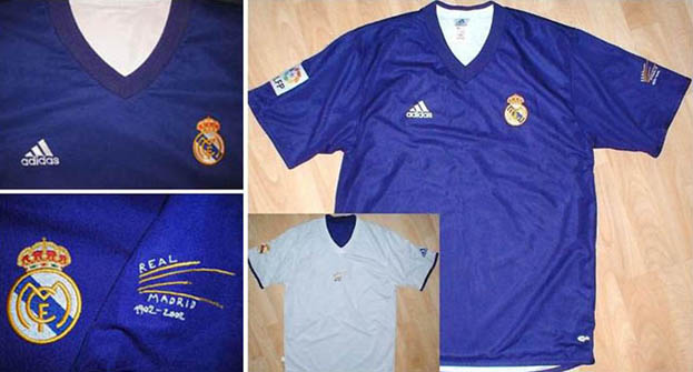8d61cf36572 Updated-Real Madrid reversible shirts. I ve done these Real Madrid  riversible 3rd centenary 2002-03 kits ...