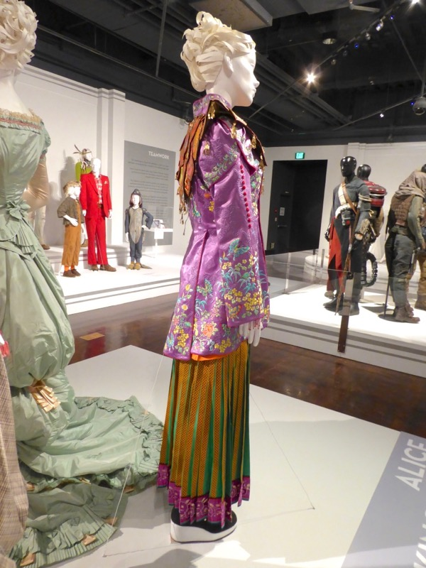 Alice Through the Looking Glass Asian film costume