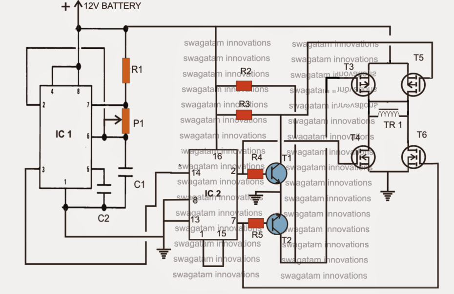 pir motion sensor circuit diagram