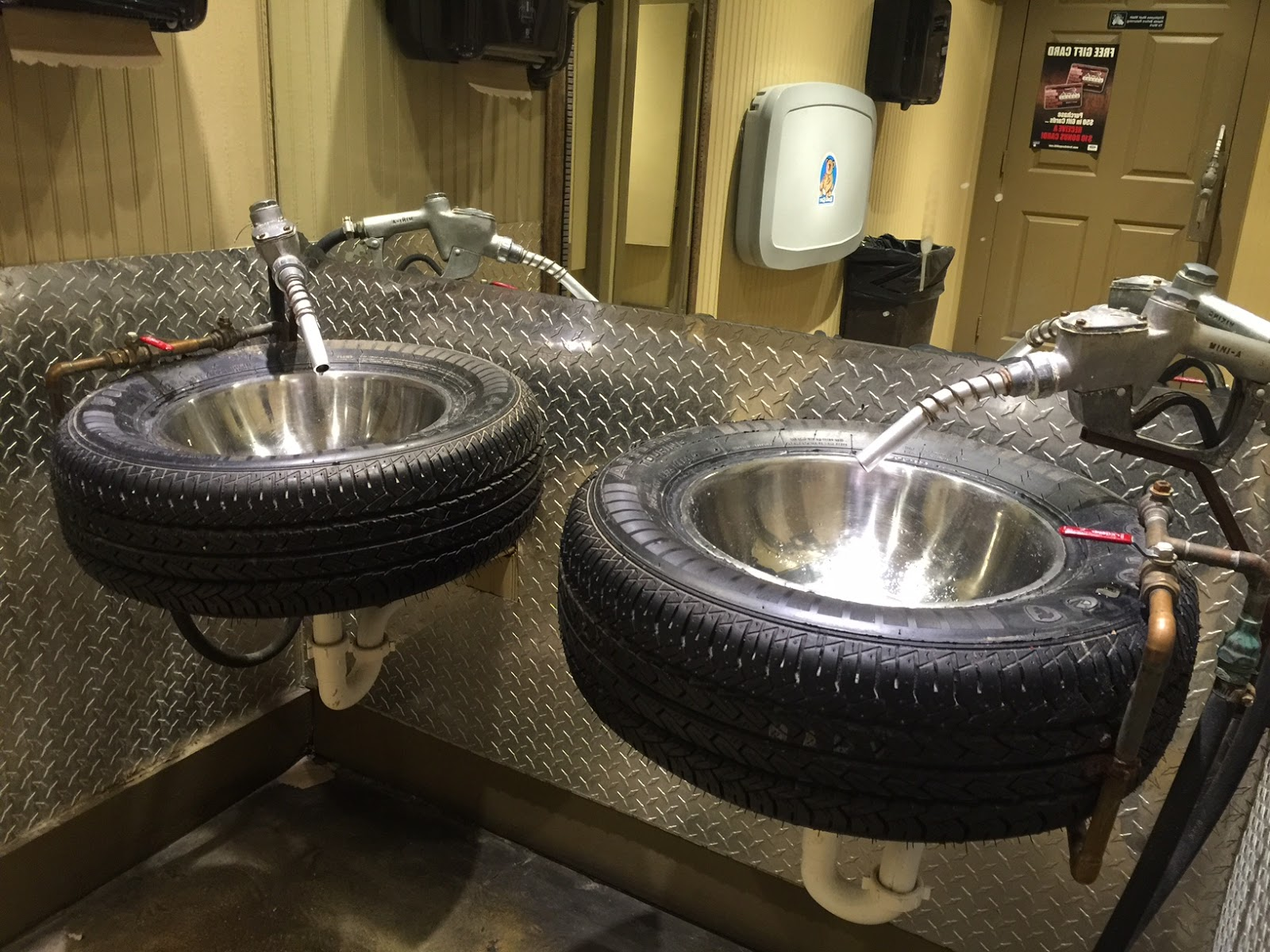 Tire Sinks Design | Cool Man Cave Decor And Furniture Ideas To Try This Week