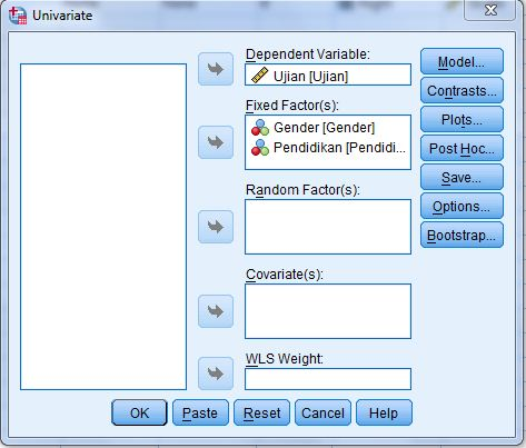 Two Way Anova SPSS Proses