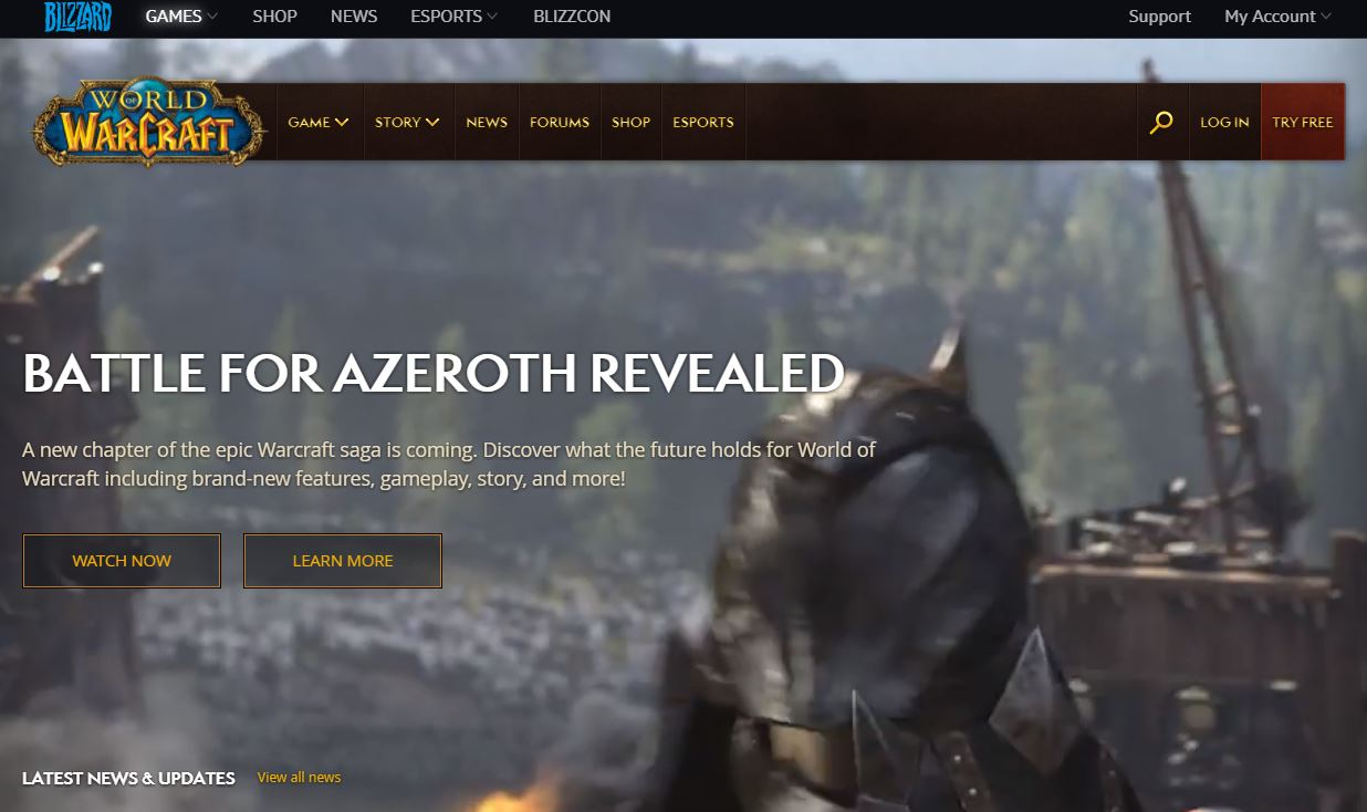 Blizzard files Inter Partes Review re: World of Warcraft