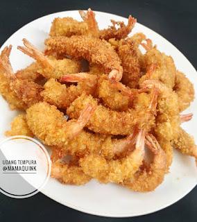 Resep udang tempura sederhana Ala Resto By @mamaquink_88