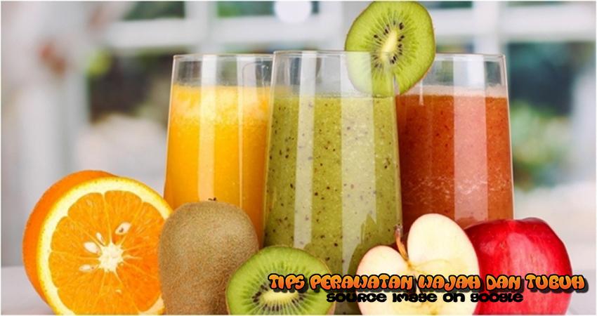 Tips dan Cara Diet Menggunakan Air Putih dan Buah