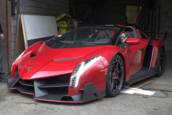Mobil Tercepat di Dunia Lamborghini Veneno