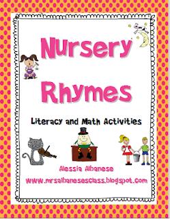 Nursery Rhymes A Mini Unit Freebie