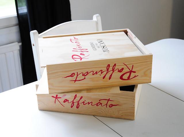 viinilaatikko kalkkimaali simola