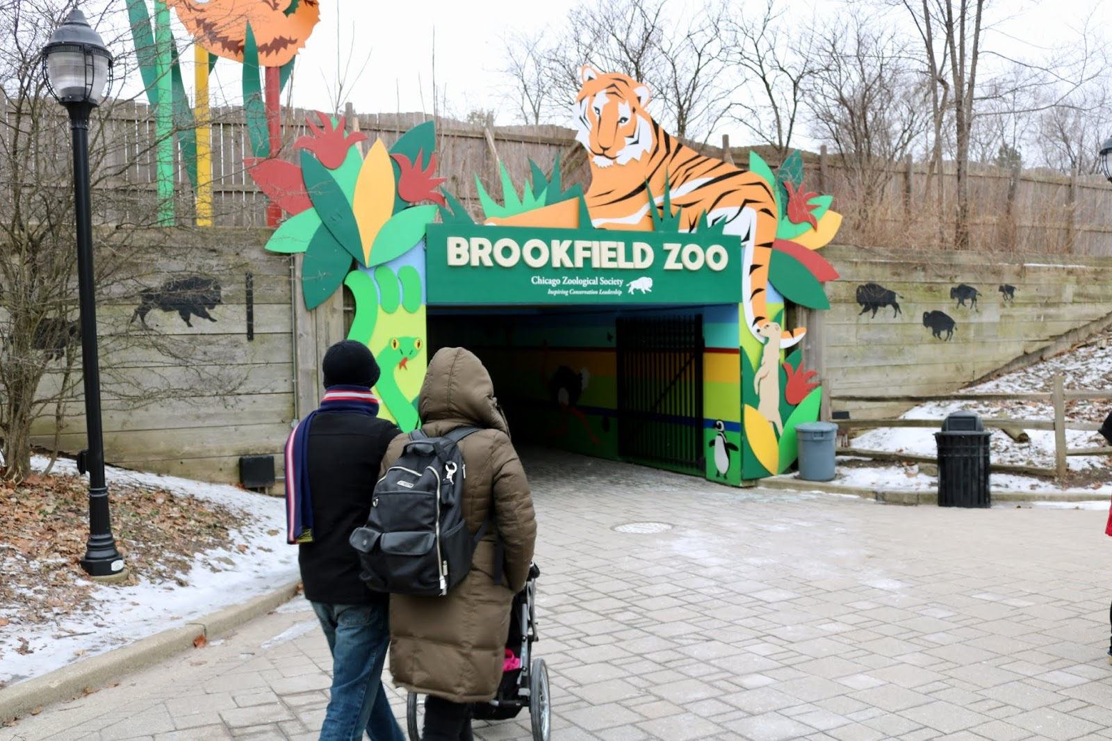 Amy S Creative Pursuits Visiting The Brookfield Zoo In Winter