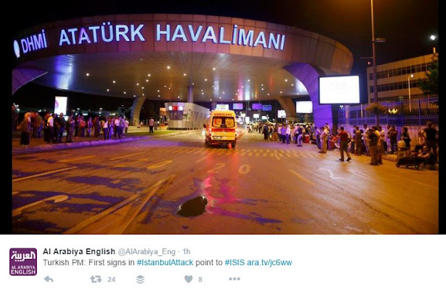 NEWS | 36 Dead In Suicide Attacks At Istanbul Airport