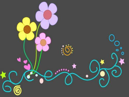 ciamik cake flores bonitas animadas