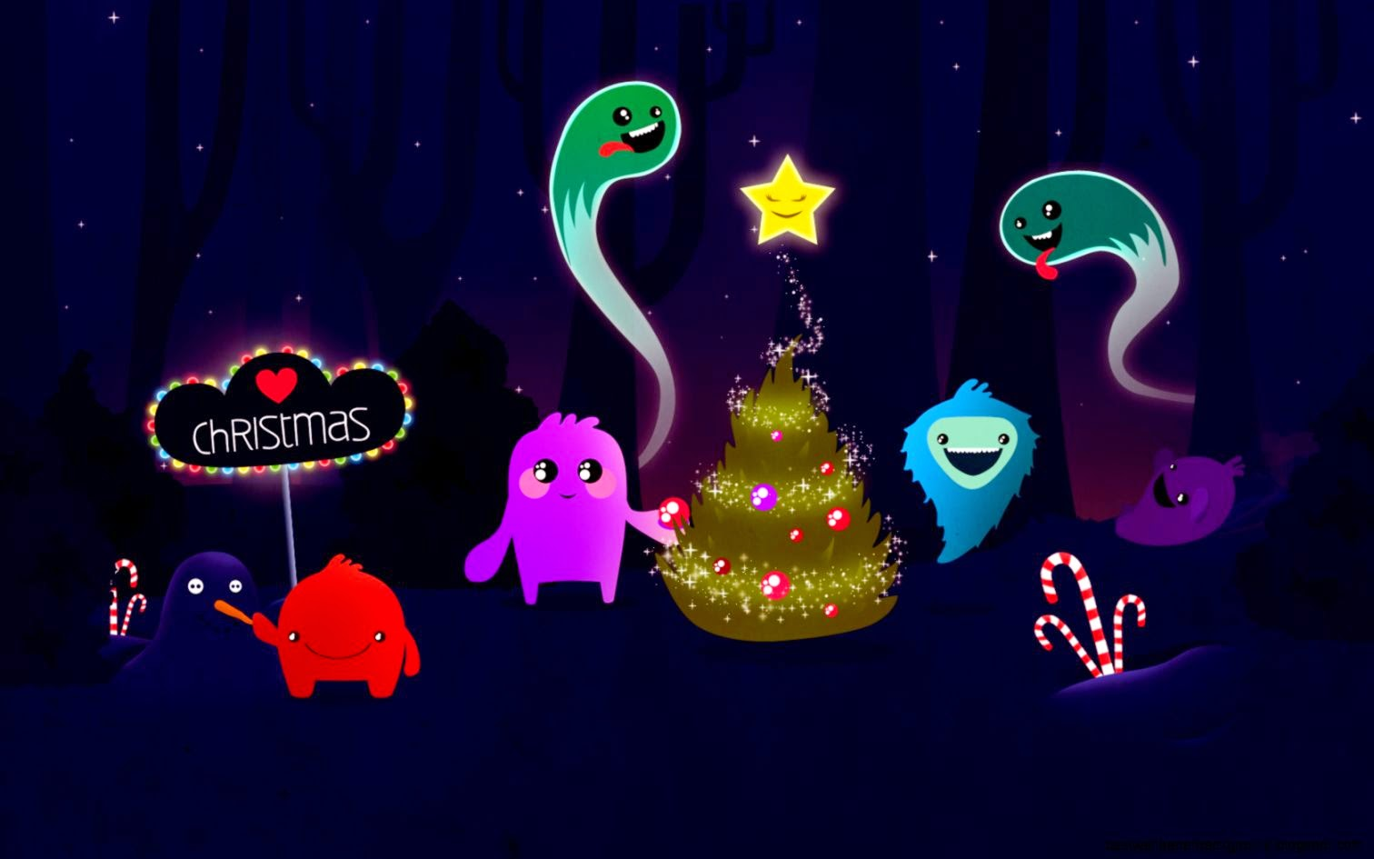 Animated Christmas Powerpoint Presentation Best Wallpaper Background