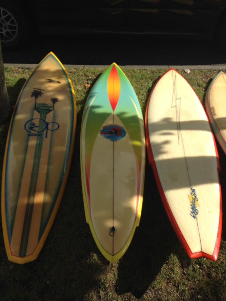 Vintage Surfboard Collector Uk Sptember Surf Meet At Museum Of