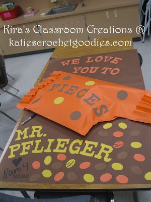 we love you to pieces classroom poster