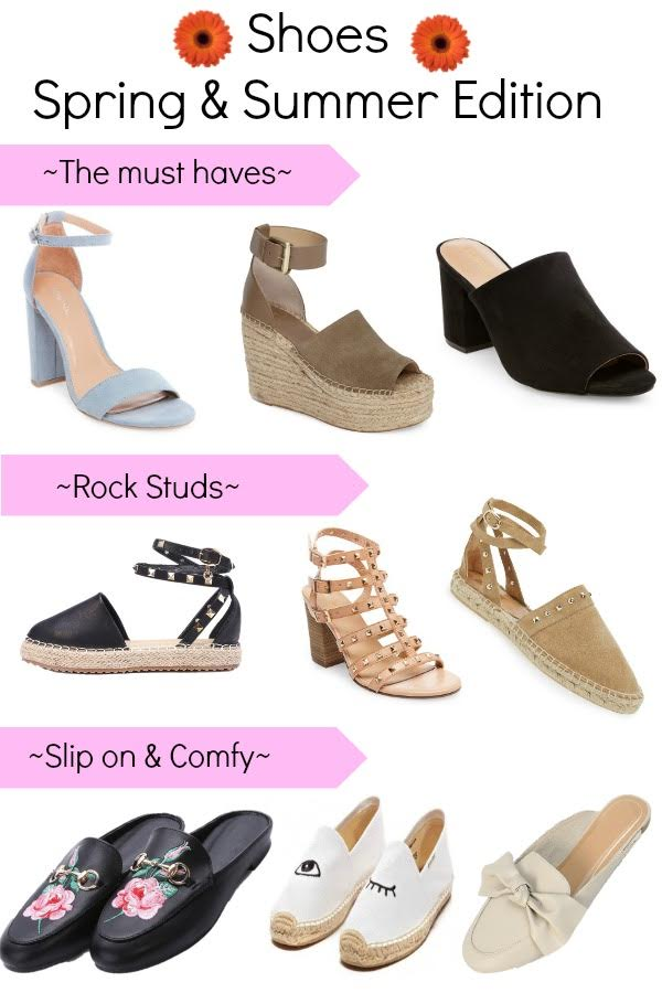 rockstud shoes, valentino shoes, target heels, espadrilles, slip on shoes, mules