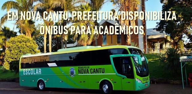 Em Roncador, acadêmicos pagam R$ 210,00 por mês pelo transporte