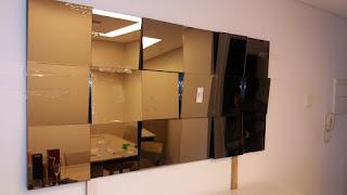foto de espelho 3D varios modelos na decoração